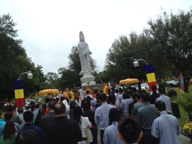 Lễ Khánh Thành Tôn Tượng Quán Thế Âm Bồ Tát