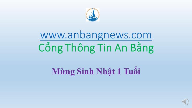 Anbangnews Kỷ Niệm Một Năm Thành Lập – Giới Thiệu Thành Viên
