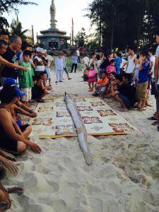 Tang Lễ Ngài Phướng Cá Hố Ông ( Cá Mái Chèo) 22/5/2015