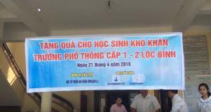 Tặng Quà Xã Lộc Bình