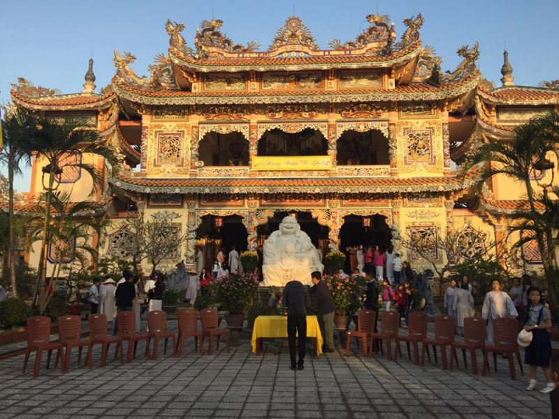 Phật Tử An Bằng Đi Lễ Chùa và Hái Hoa Xuân Đầu Năm