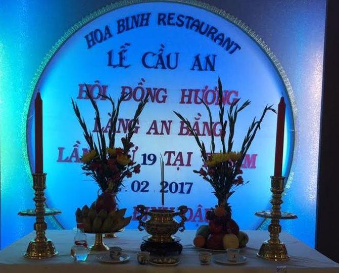 HĐH An Bằng tại TP HCM tổ chức lễ Cầu An đầu năm