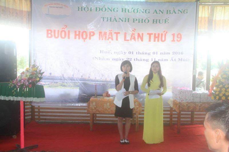 Hội Đồng Hương An Bằng tại Huế Gặp Mặt Lần thứ 19 (2016)