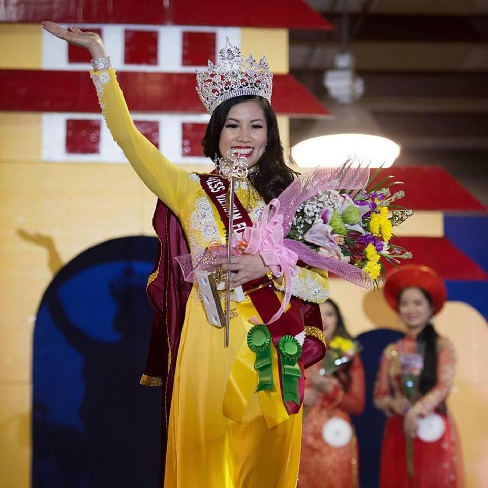 """Văn Ngọc-Anh """"Angel"""" – Hoa hậu Người Việt Florida 2016"""