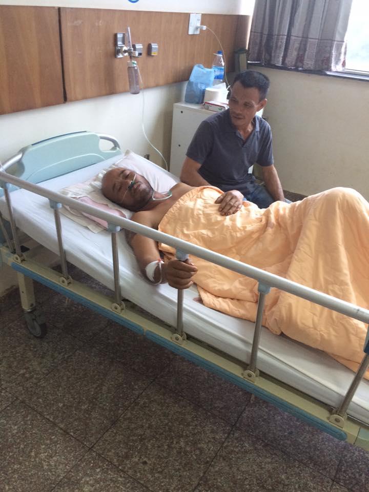 Cần Giúp Đỡ: Anh Nguyễn Văn Thanh bị tai nạn