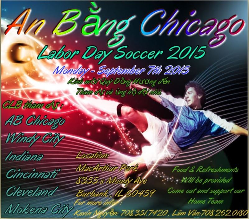 Đội Bóng Chicago – Chương Trình Ngày Lễ Labor Day