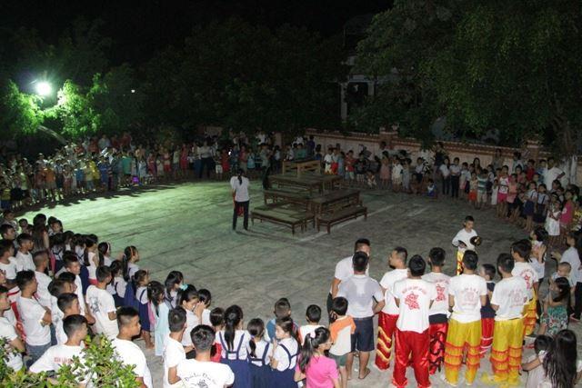 GĐPT tổ chức vui tết trung thu tại chùa An Bằng