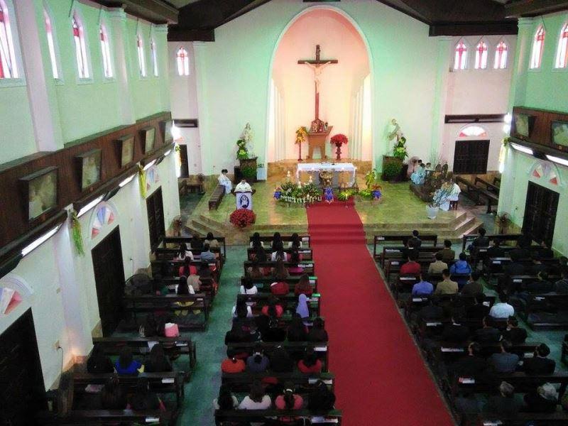 Thánh Lễ Đầu Năm 2016 ở Giáo Xứ An Bằng