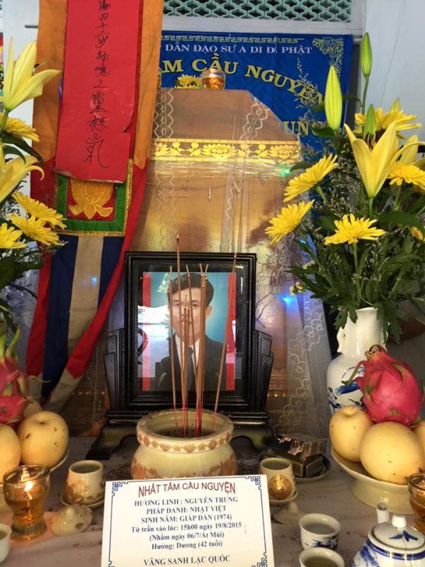 Anh Nguyễn Trung vừa qua đời