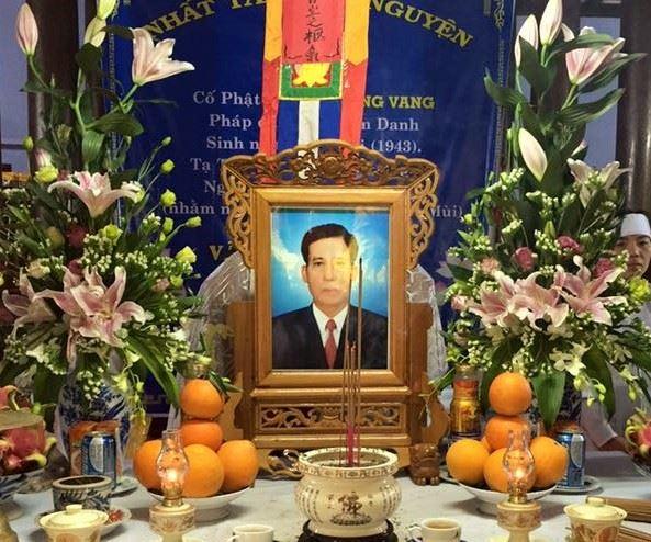 Ông Văn Công Vang qua đời