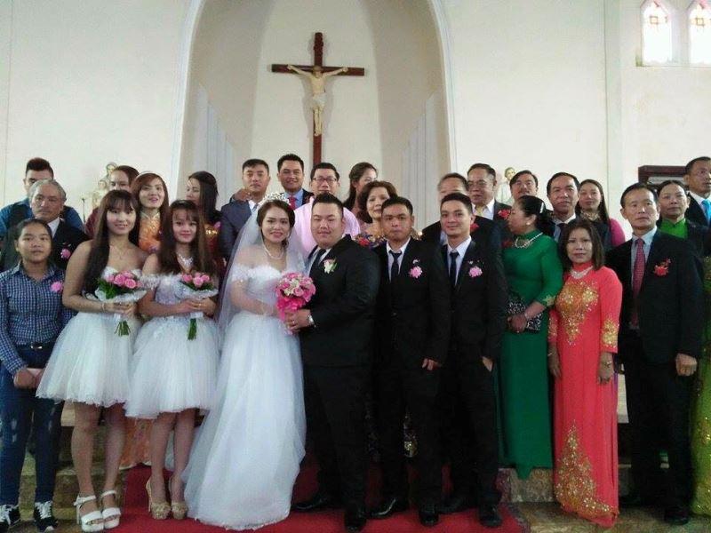 Lễ Hôn Phối của Bênêđíctô Nguyễn Hoàng Viết Dan và Matta Lê Thị Thúy