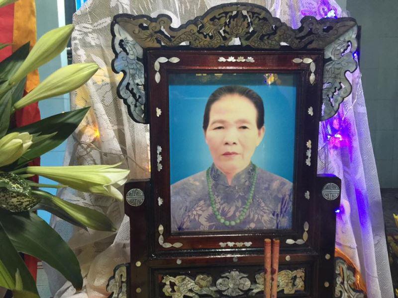 Bà Lê Thị Bá Qua Đời