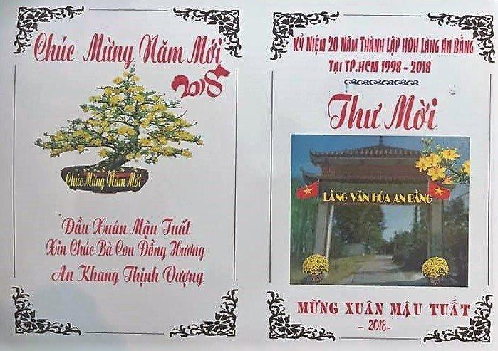 Thư Mời Lễ Cầu An Đầu Năm – Hội Đồng Hương An Bằng tại TP Hồ Chí Minh