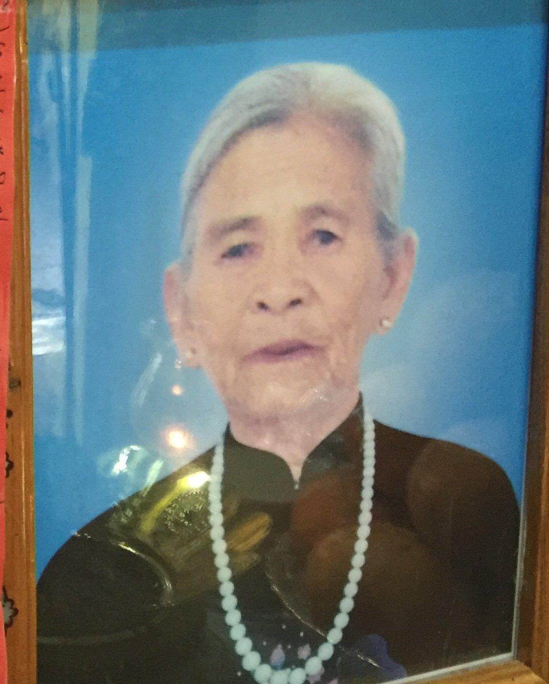 Bà Trương Thị Vông qua đời