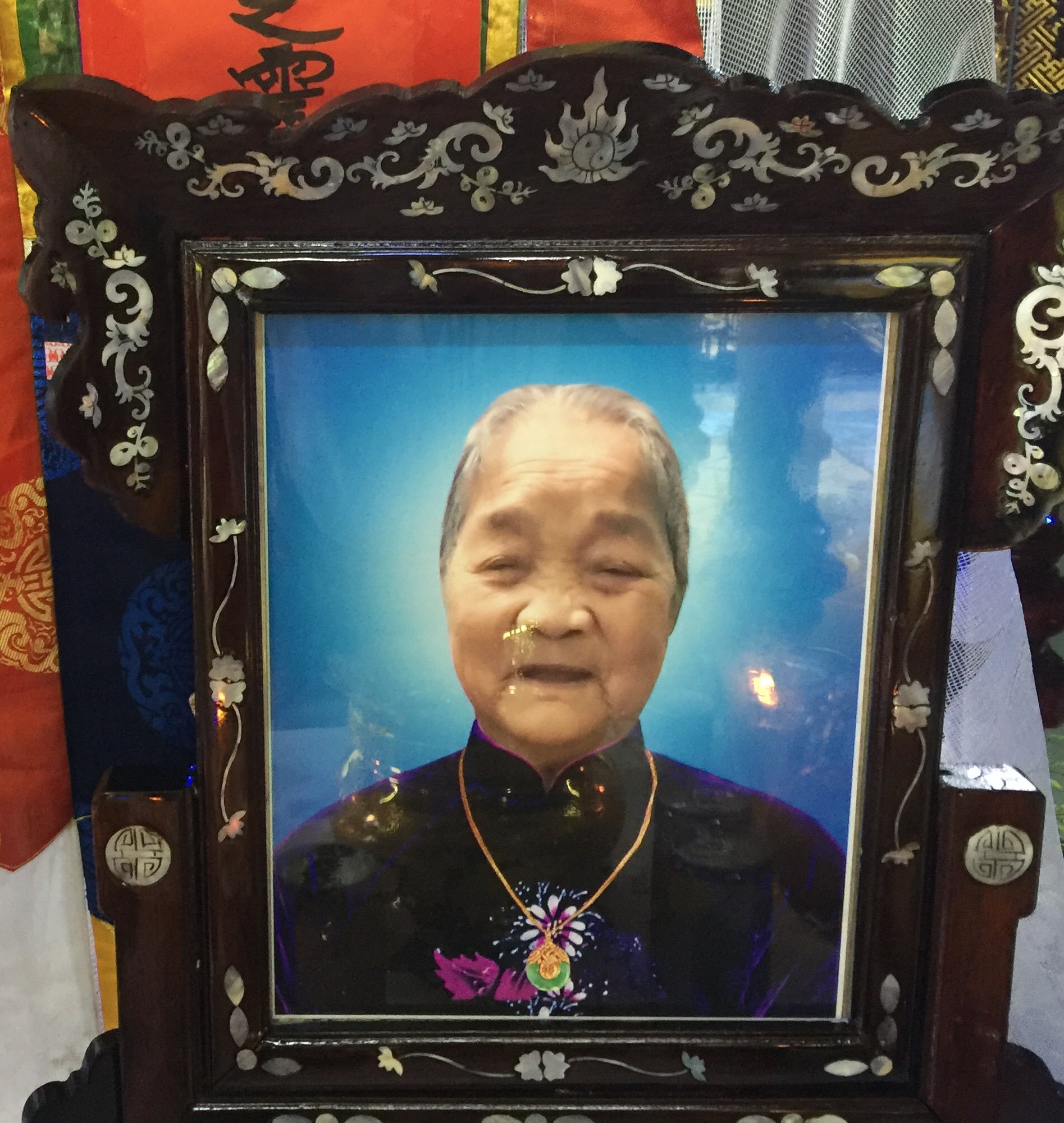 Mệ Văn Thị Diệm qua đời