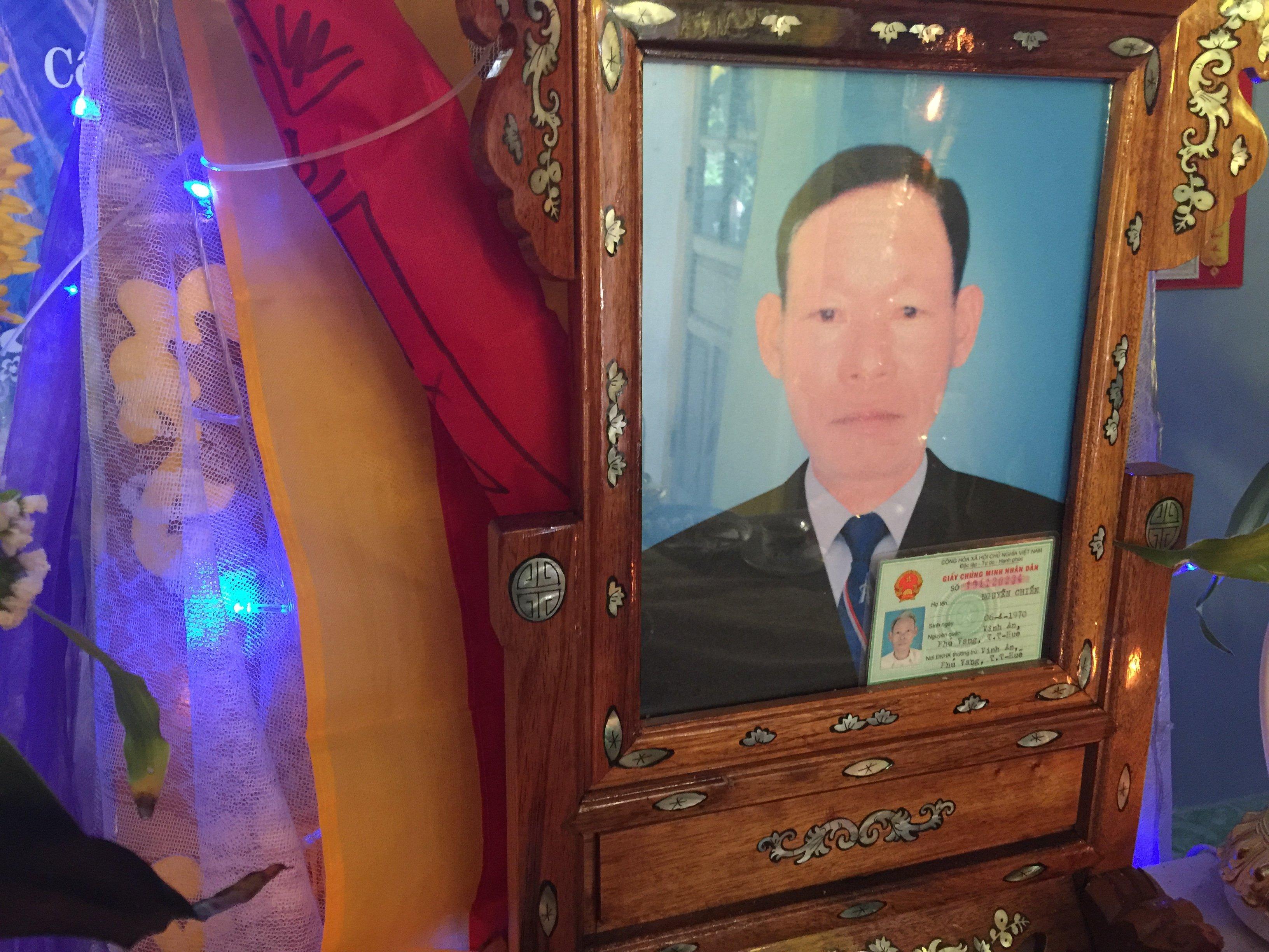 Chú Nguyễn Chiến qua đời