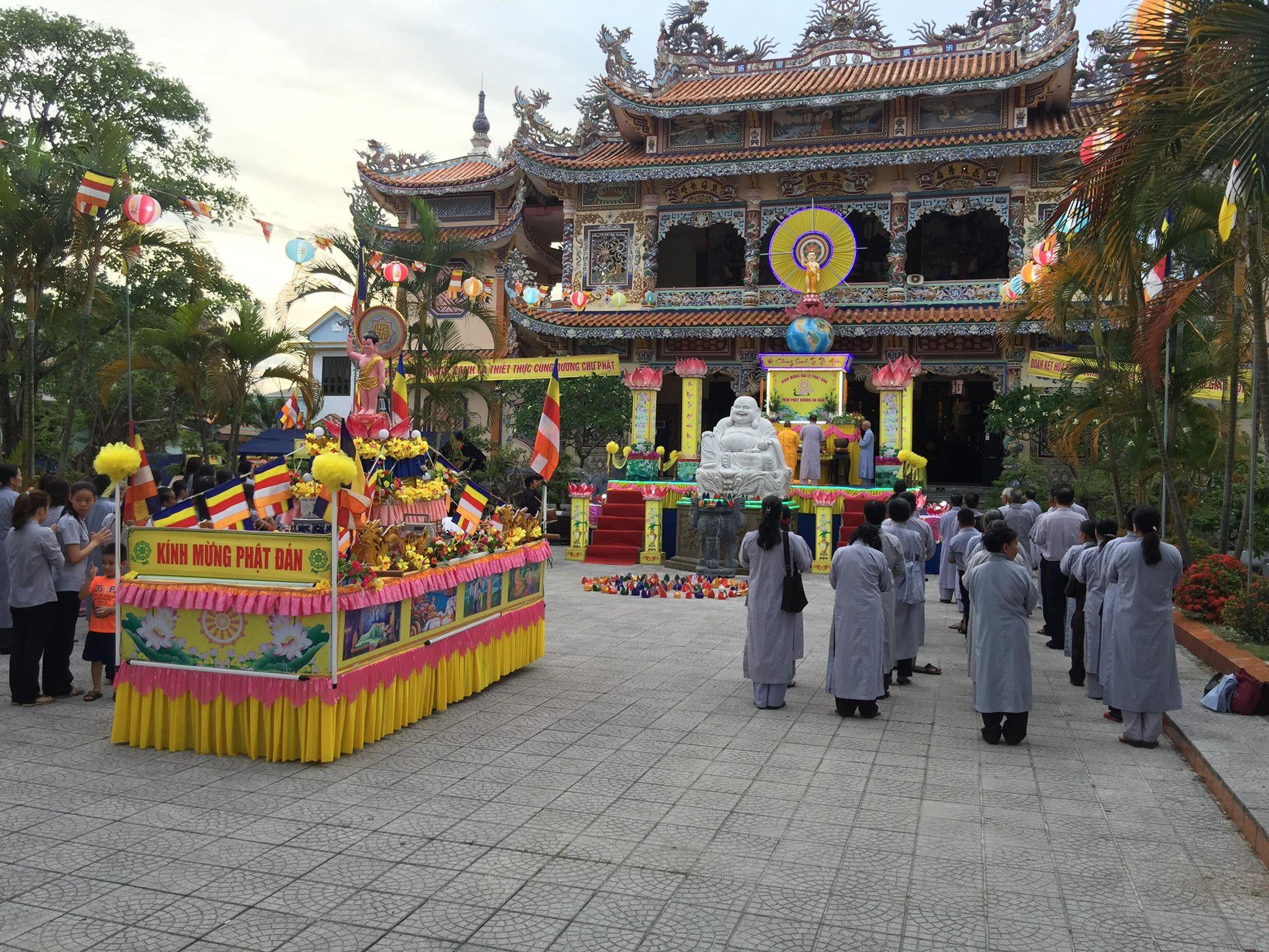 Mùa Phật Đản PL 2562 Tại Quê Hương An Bằng