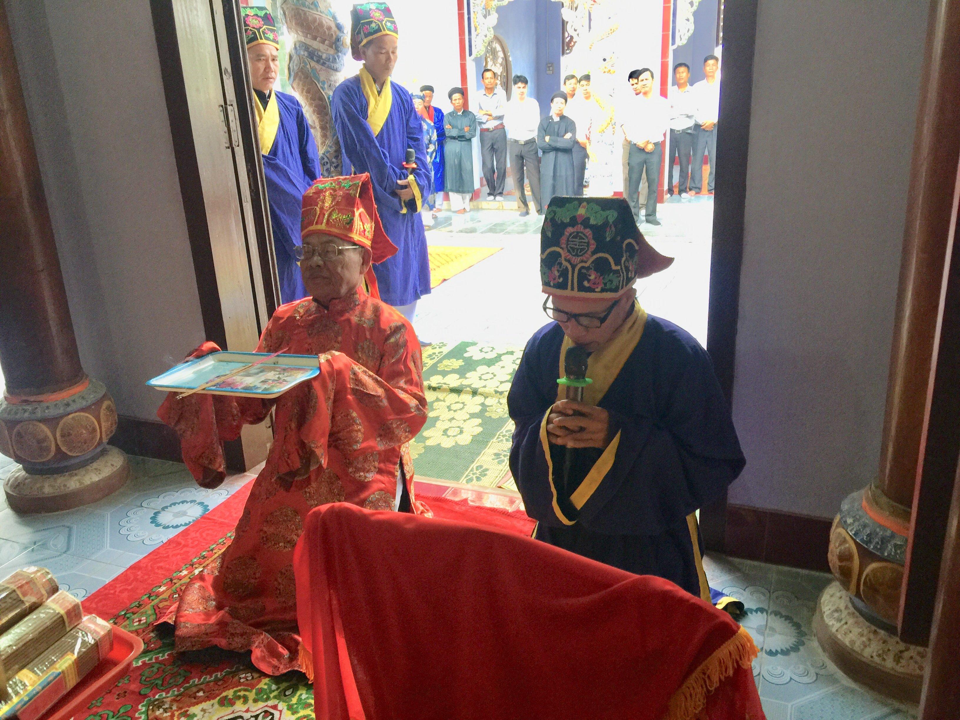 Làng An Bằng tổ chức lễ tế thu