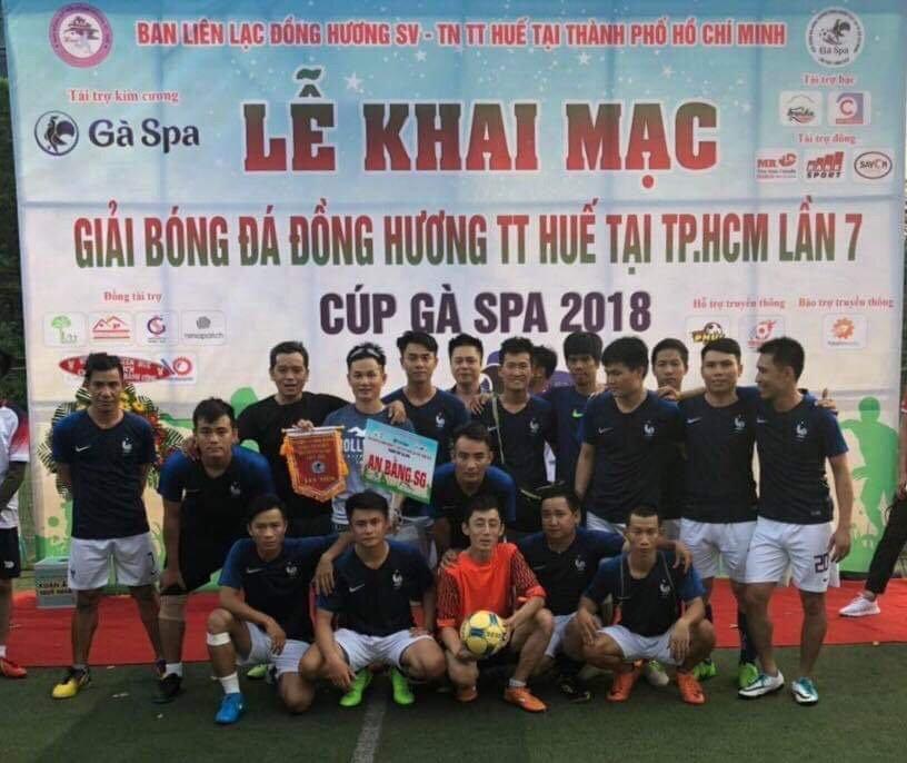 NGÀY ĐẦU RA QUÂN ,ĐỘI BÓNG AN BẰNG SG-FC GIÀNH THẮNG LỢI