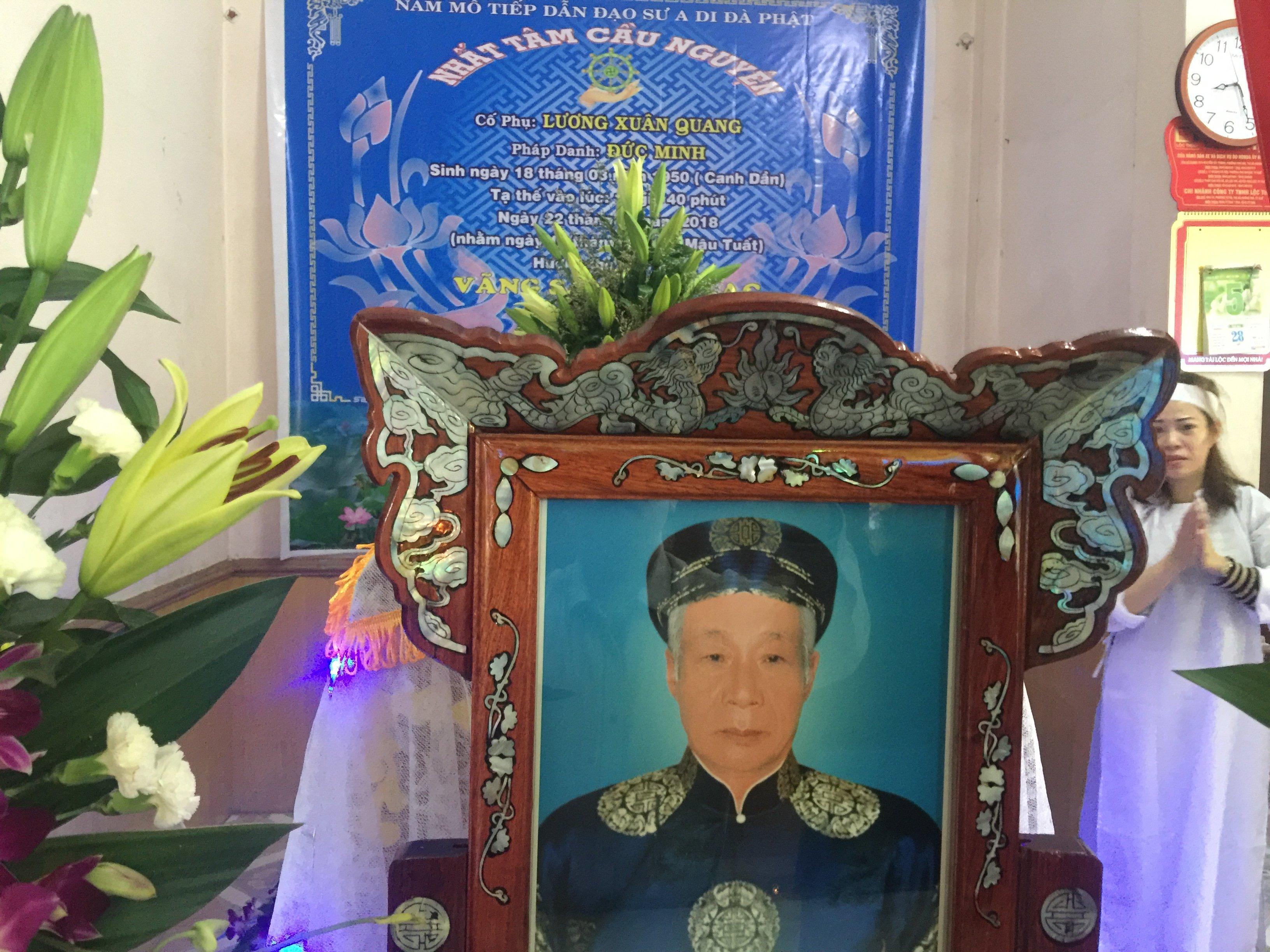 Ông Lương Xuân Quang qua đời
