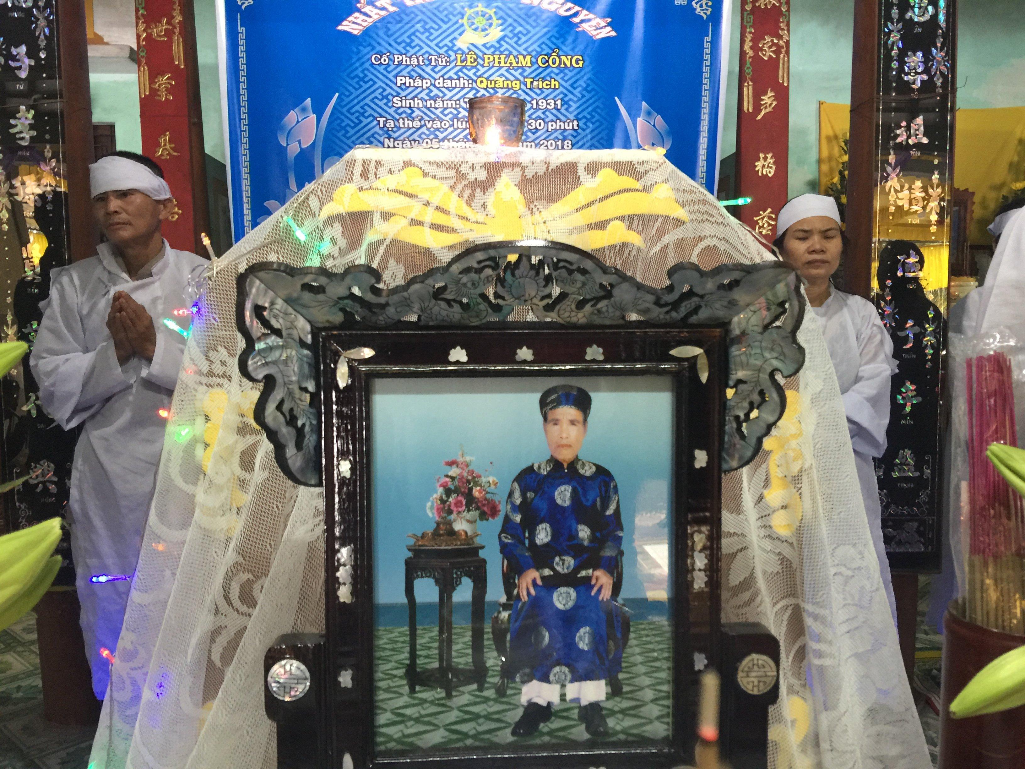 Ông Lê Phạm Cổng qua đời