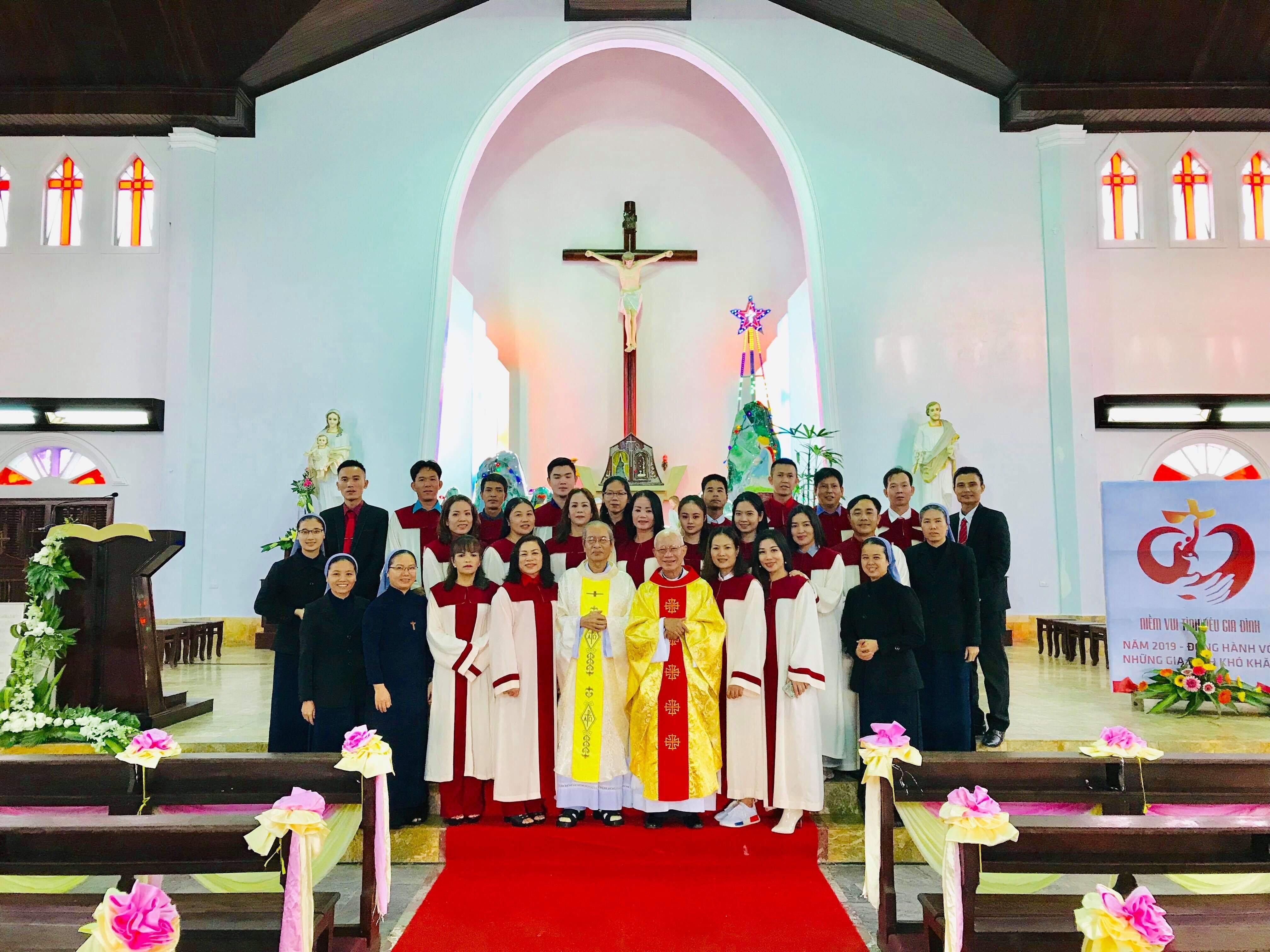 Giáo xứ An Bằng mừng Chúa giáng sinh