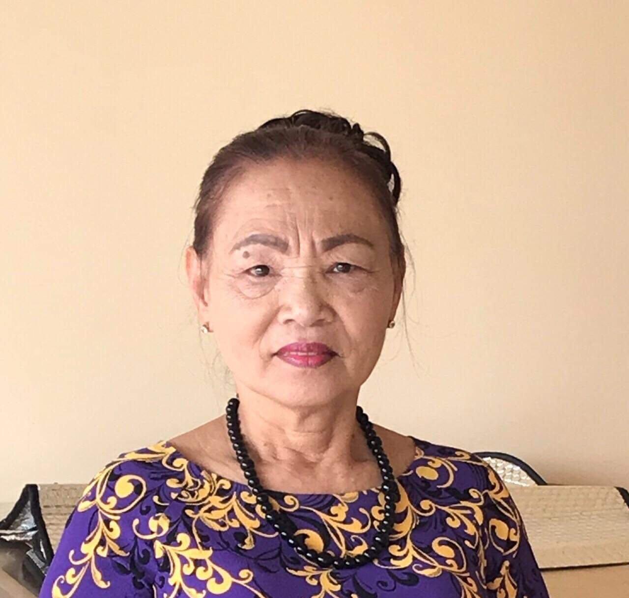 Lễ tang bà Văn Thị Chớ tại An Bằng -Việt Nam