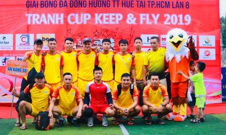 Với trận thắng đội CĐV Huế 3-1,đội bóng An Bằng SG FC  đã lọt vào vòng 2(1/16)