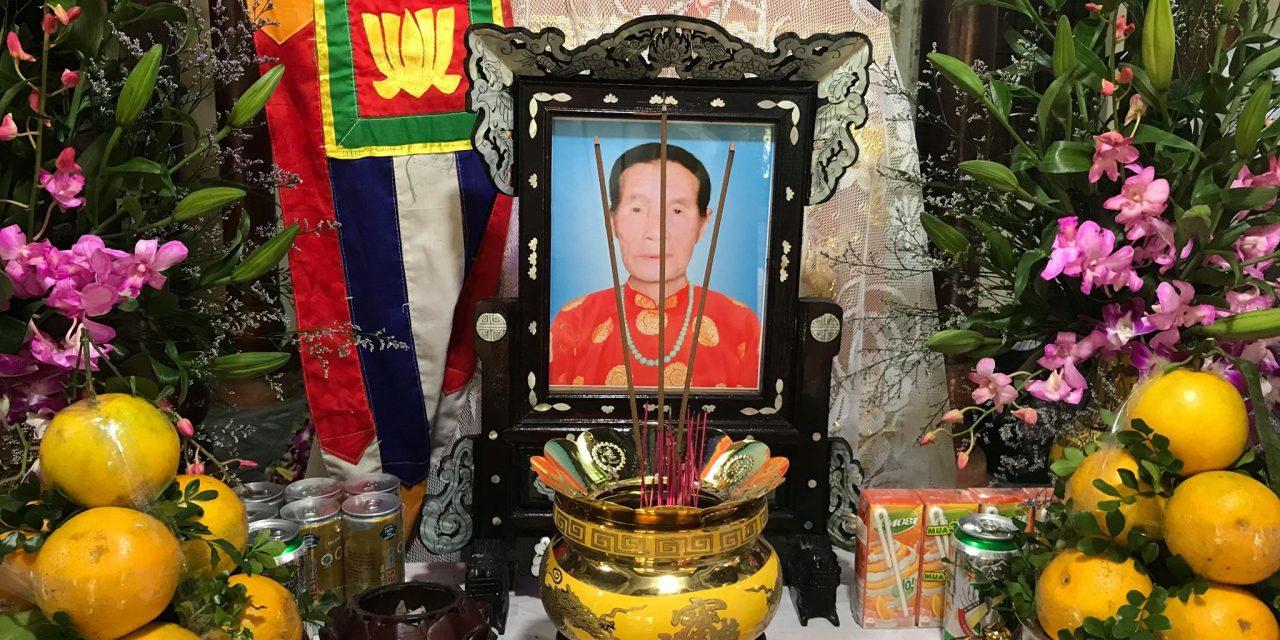 Mệ Nguyễn Thị Hanh qua đời