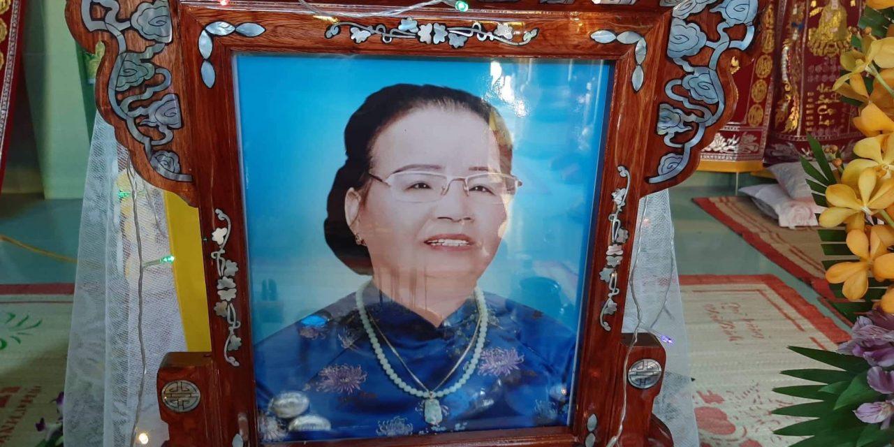 Bà Lê Thị Lãng qua đời
