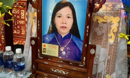 Lễ tang của bà Đặng Thị Gái tại quê nhà An Bằng