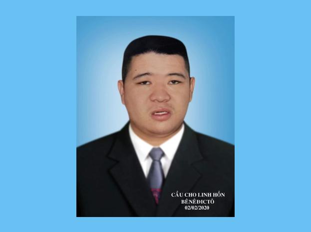 Tin buồn: Anh Bênêđictô Văn Công Hồng Vinh Qua Đời, Hưởng Dương 25 Tuổi.