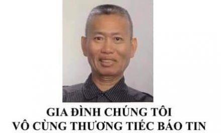 Ông Trần Văn Thành Qua Đời