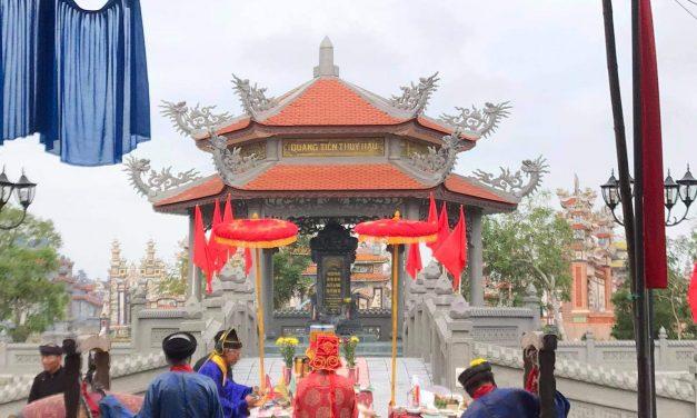 Lễ tạ di tích Bàu đình tâm linh làng An Bằng
