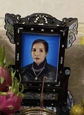 Bà Văn Thị Liễu ( Gái ) qua đời