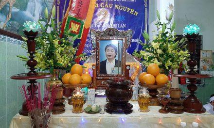 Bà Văn Thị Lan, PD Quảng Ngọc Qua Đời