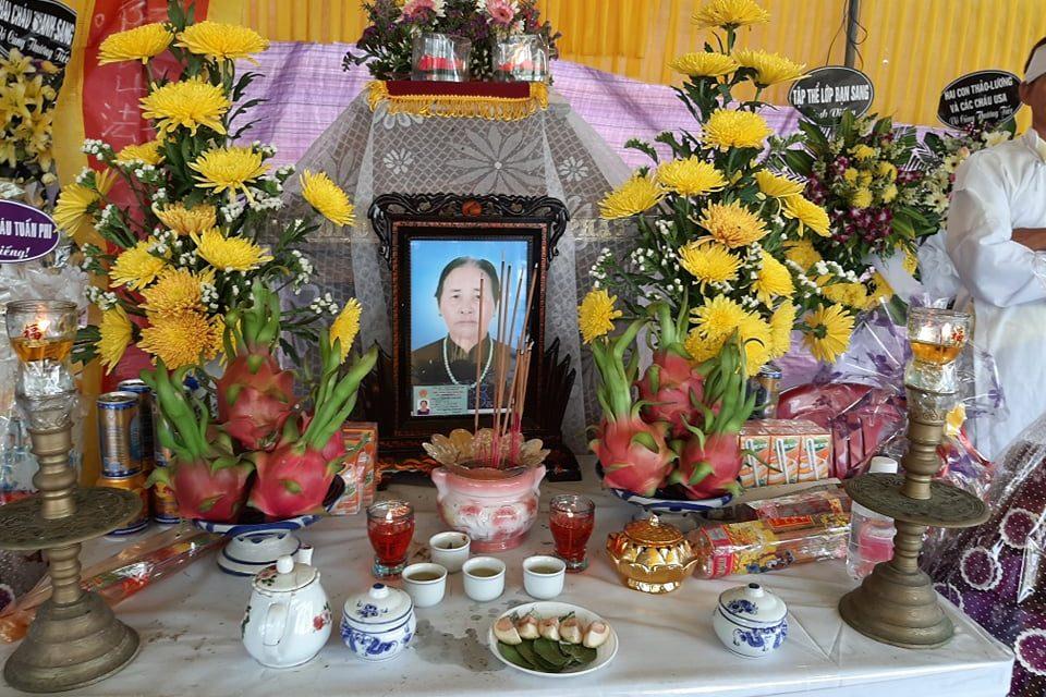 Mệ Nguyễn Thị Sơn, PD Quảng Can Qua Đời