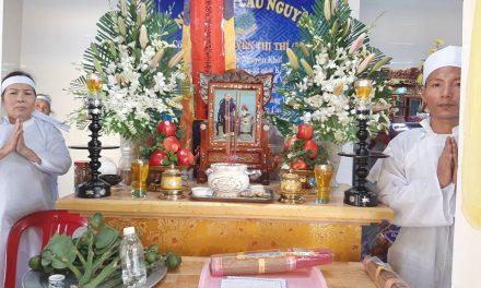 Mệ Nguyễn Thị Thí (Năm), pd Nguyên Khởi, Qua Đời