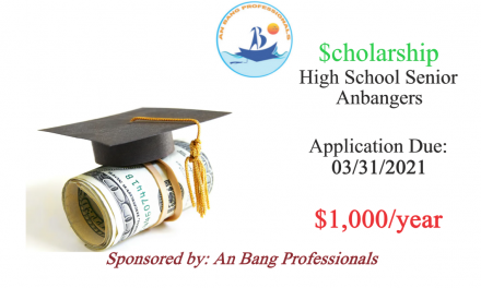 Scholarship for An Bang High School Seniors