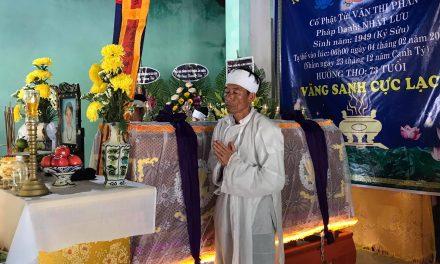 Mệ Văn Thị Phàn, PD Nhật Lưu, Qua Đời