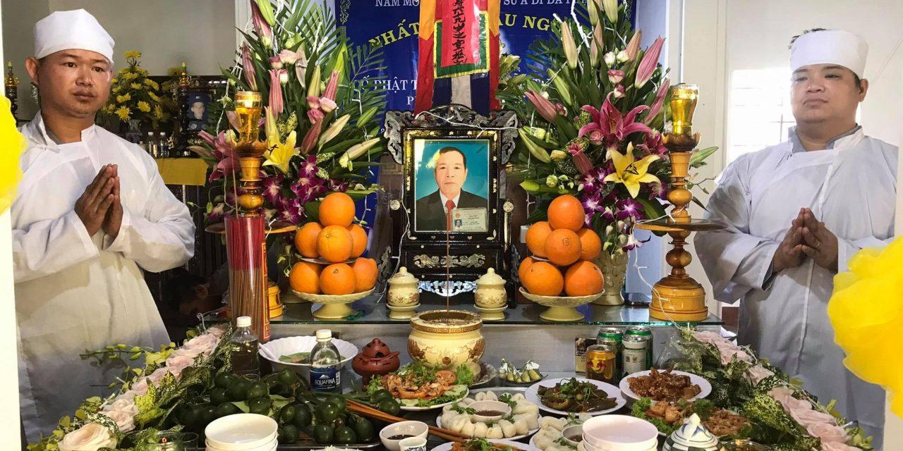 Ôn Phan Nguyễn Tụng (Bổng), pd Nguyên Sanh, Qua Đời