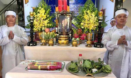 Ôn Văn Công Chính (Huy), PD Nguyên Liêm, Qua Đời
