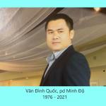 Anh Văn Đình Quốc, pd Minh Độ, Qua Đời