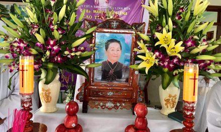 Bà Cao Thị Tương qua đời