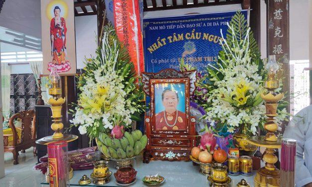Mệ Lê Phạm Thị Lồng qua đời