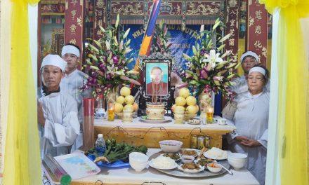 Mệ Văn Thị Hải, pd Nguyên Lạc, Qua Đời