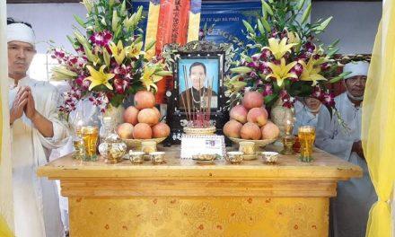 Mệ Nguyễn Thị Thiên, pd Nhuận Quang, Qua Đời