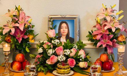 Chị Lê Thi Hoa, Pháp Danh Quảng Thi, Qua Đời