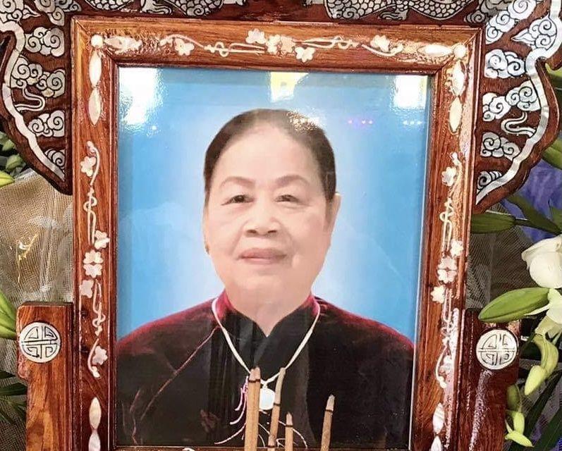Mệ Nguyễn Thị Ghi qua đời