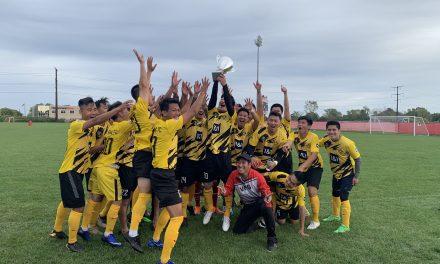 Đội bóng An Bằng FC Chicago giành chức vô địch với giải  Việt Nam miền Trung Tây tại Hoa Kỳ